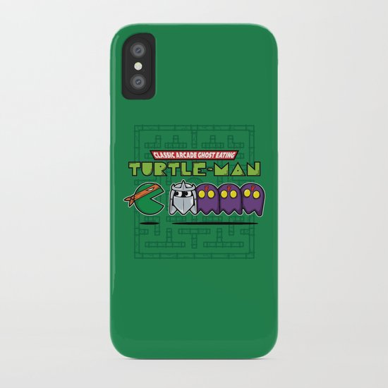 Hero in a Pac-Shell (Mikey) iPhone Case