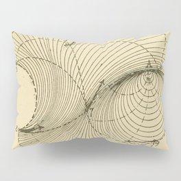 Fluid Dynamics Pillow Sham
