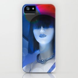 Ms Red White And Blue iPhone Case