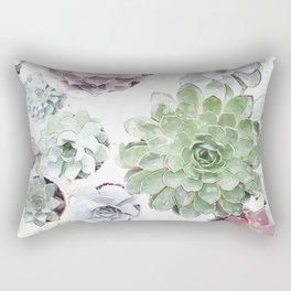 Original Succulent Print #society6 #decor #buyart Rectangular Pillow