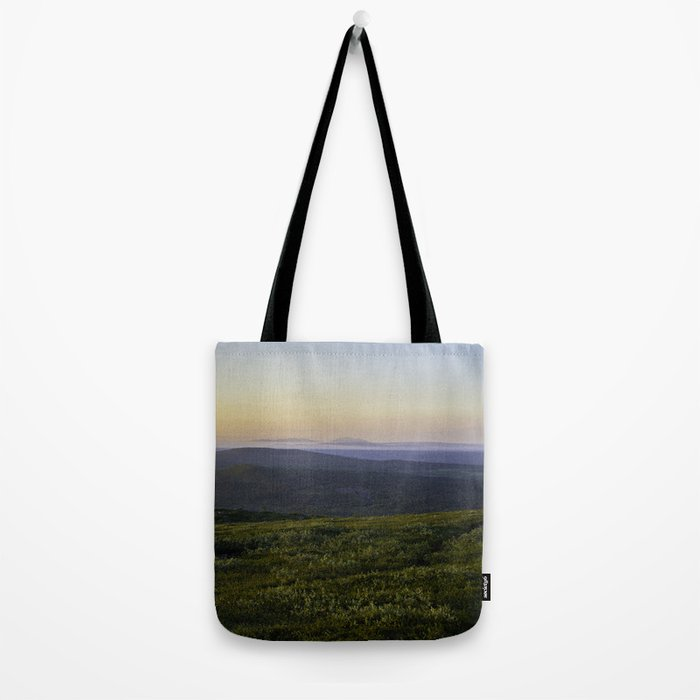 Midnight sun Tote Bag