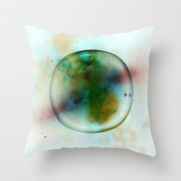 Abstract   Alien Planet   Universe   Fine Office Art   Abstract Gas Throw Pillow