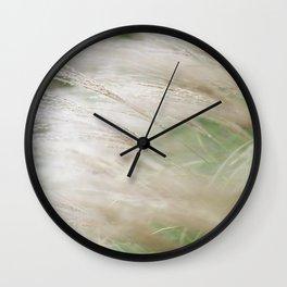 375. Greenery in Kitsilano, Vancouver, Canada Wall Clock
