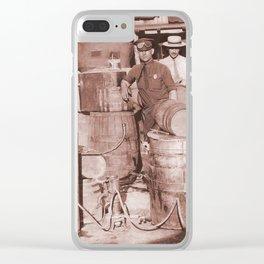SGT. Leebrick, WVSP Clear iPhone Case