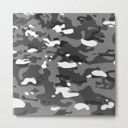Military Camouflage: Urban II Metal Print