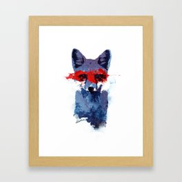 The last superhero Framed Art Print