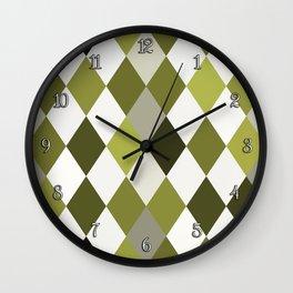 Cactus Garden Harlequin 1 Wall Clock