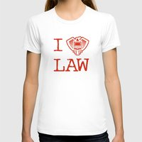 law T-shirts featuring Law Lover by Fanboy30