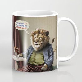 Hungry Lion Coffee Mug