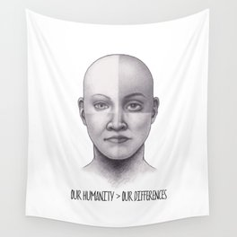 Our Humanity > Our Differences Wall Tapestry