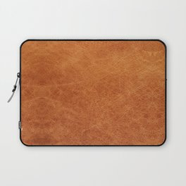 N91 - HQ Original Moroccan Camel Leather Texture Photography Laptop Sleeve