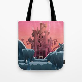 Hollow Bastion (Kingdom Hearts) Travel Poster Tote Bag
