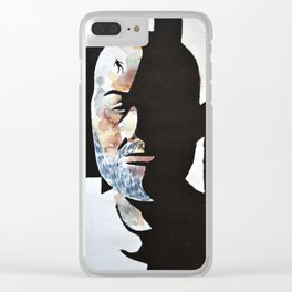 overthinking Clear iPhone Case