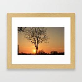 Amazing Sunrise Framed Art Print