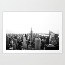 NEW YORK CITY - EMPIRE STATE / Horizontal Art Print