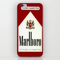 cigarettes iPhone & iPod Skins featuring cigarettes by Azrai Danial