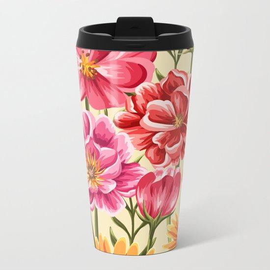 Flower Power vol.2 Metal Travel Mug