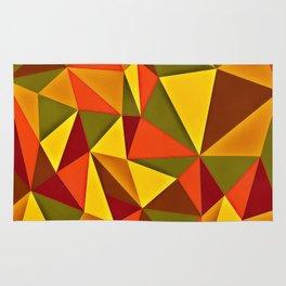 Triangulism Rug