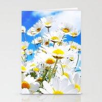 daisy Stationery Cards featuring DAISY by Ylenia Pizzetti