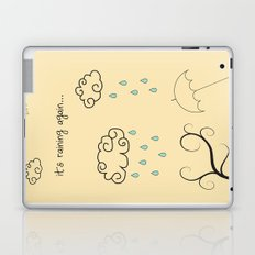 Raining Laptop & iPad Skin
