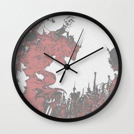 Terra-nigma Wall Clock