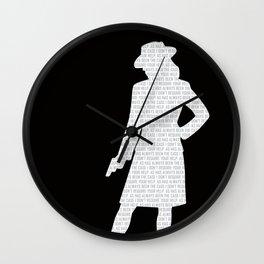 Agent Carter Wall Clock