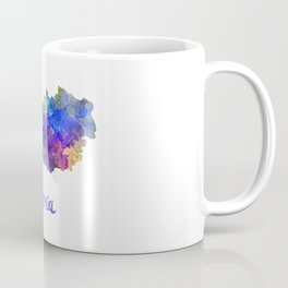 Austria in watercolor Coffee Mug
