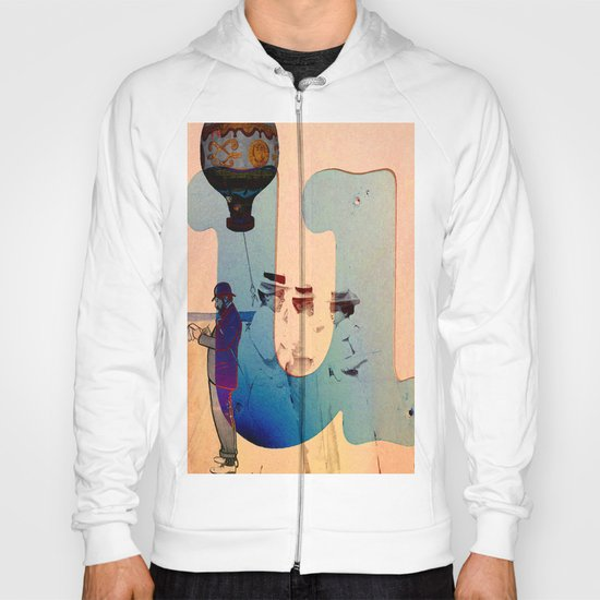 "Collage "" les demoiselles d'Avignon "" Hoody"