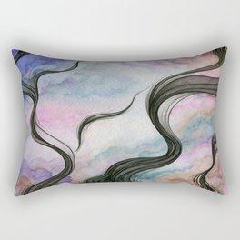 The Fleeting Demonic Fantasy Rectangular Pillow