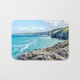 Port Isaac Bay - From Castle Rock Bath Mat