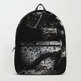 Black Tricone Drill Bit Backpack