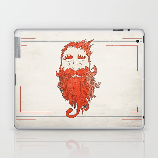 Beardsworthy Laptop & iPad Skin