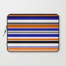 SSLICEE - Stripe, Lines, Orange, Fun, Summer, Clean Laptop Sleeve