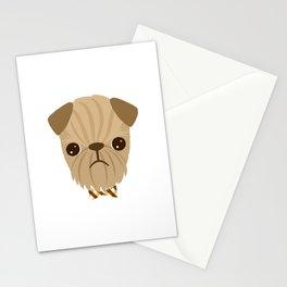 Dapper Brussels Griffon Stationery Cards