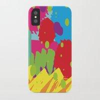 graffiti iPhone & iPod Cases featuring Graffiti by rivercbishop