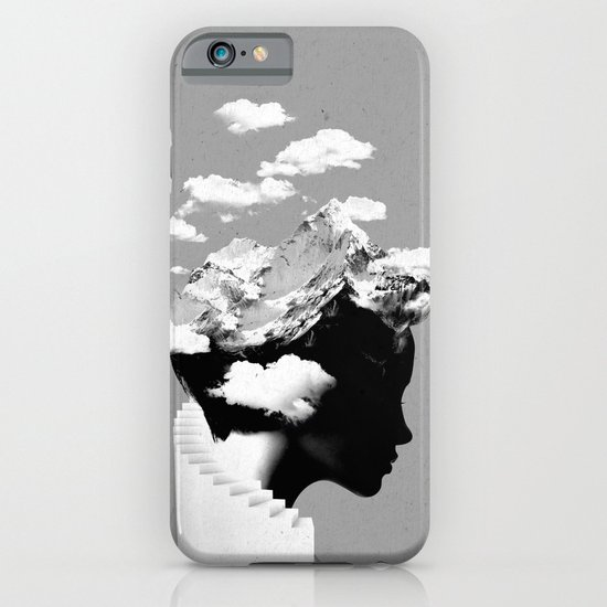 It's a cloudy day iPhone & iPod Case