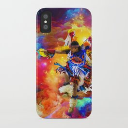 Dance with eagle iPhone Case