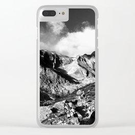 Meeker and Longs Peak Clear iPhone Case