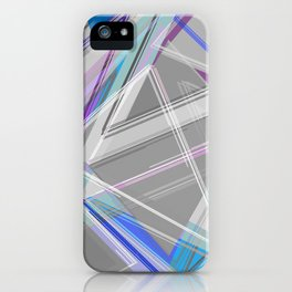 ∆Blue iPhone Case