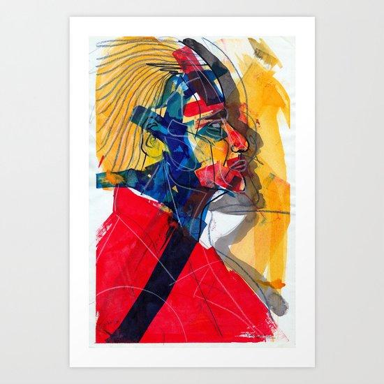 man 02 Art Print