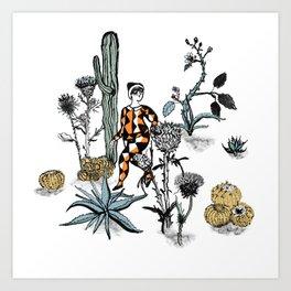 Arlecchino Art Print