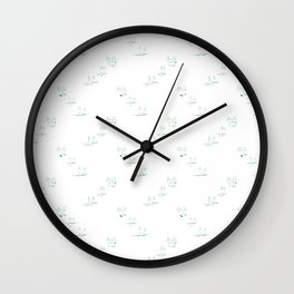 Martha's Critters Wall Clock