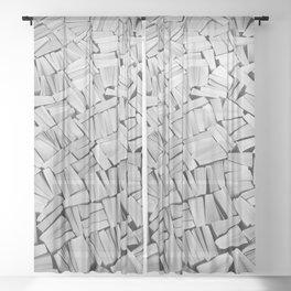 Pulp fiction Sheer Curtain