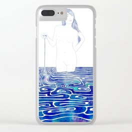 Water Nymph XC Clear iPhone Case