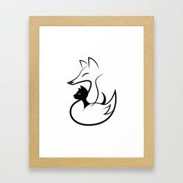 minima - guardian Framed Art Print