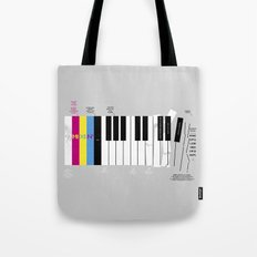 Brief History of Music Tote Bag