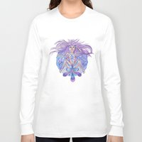 vagina Long Sleeve T-shirts featuring Vagina in sorrow | Vagina en llanto by Valentina Raventós