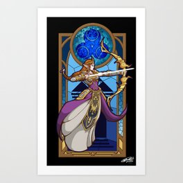 Zelda Princess of Wisdom Art Print