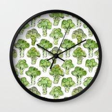 Broccoli - Formal Wall Clock