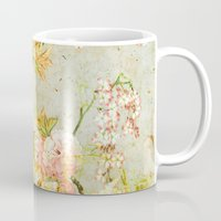 climbing Mugs featuring climbing flowers by clemm